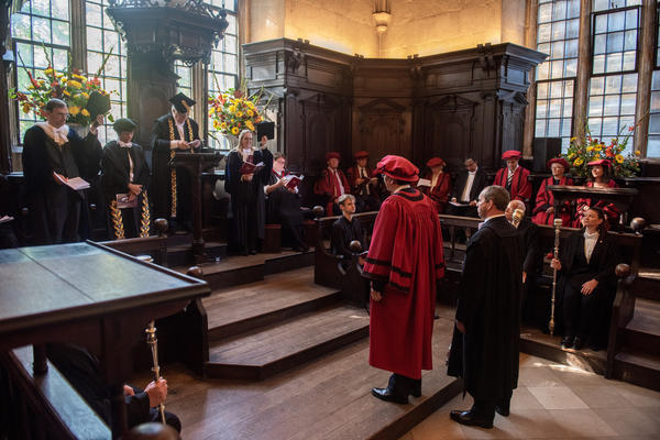 Chancellor's Court of Benefactors ceremony_by John Cairns